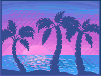 One of purple islands secret sights