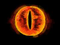 Big man Sauron's eye @hello_peeps
