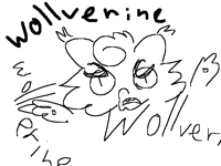 What's happening? Who's wollverine???!