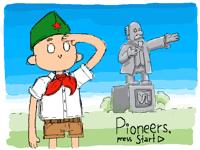 Pioneers, press Start!