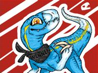if @LapisMiicho was a velociraptor