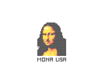 Mona Lisa went crazy