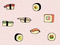 Sushi is jummie