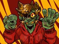 Goretober #2- Zombie.