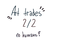 Art trades!closed