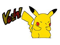 Yeah! Pikachu!