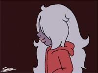 Walking Amethyst animation