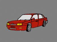 Family saloon-race car(DEMO)