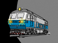 Chinese diesel electric locomotive