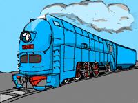 SL7 Type Steam locomotive