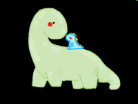 Dino with Ryno