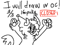 I will draw your oc! CLOSED