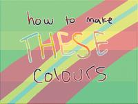 should I make a tutorial on how I colour