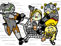 Mad cart riders