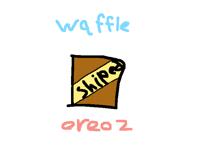 @waffleworld @oreoz