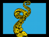 Yellow tentacle