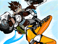 [REQUEST] Tracer from Overwatch