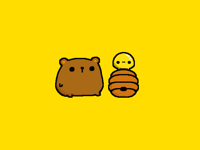 Bear & honey