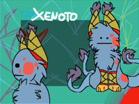 XENOTOS my own original species REMAKE