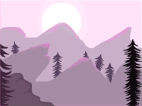 Landscapes from my imagination for new colors