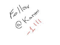 Follow @Karim -1!!