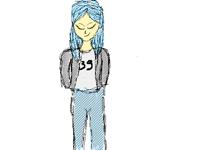 Blue girl (WIP)