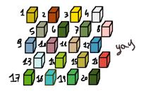 You choose a colour. I send you the tutorial!