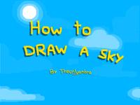Mini tutorial: How to draw a sky