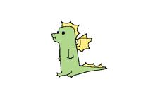 Weird dragon