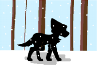 snowy forest (contest entry)