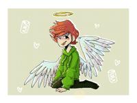 angel edd (redraw again) <3