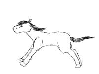 Horse run cycle (smooth :0)