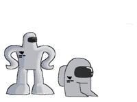 This robot mf lookin like AMOGUS