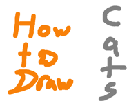HowToDraw: Cats