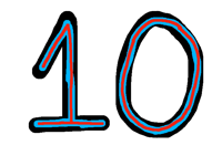 10 followers!!