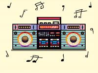 Inktober day 4: radio