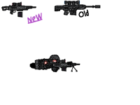 New sniper rifle model