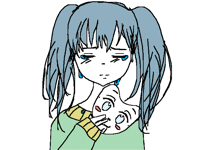 Hatsune Miku : sad