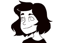 I drew my friend while she stared this was awkward