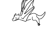 Dragon he fllyin
