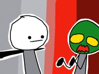 Gary Kills A Zombie!