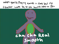 Cha cha real smooth