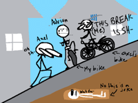 basically what happened to my bike