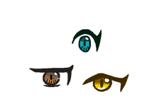 trying anime eyes