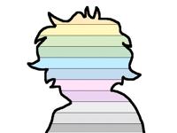 im not human, im a walking prideflag