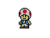 Pixel Art 1 - Red Toad