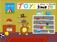 The Toy Shop interior (collab with @Artboy54)