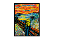 testing color) The Scream of Munch