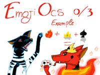 Free Emoji OCs (I try)