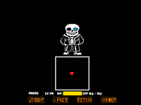 Sans fight (real) (took 3 hours but so worth it)